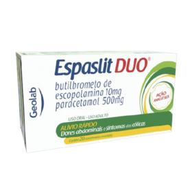 Espaslit Duo - 500mg/10mg | 20 comprimidos