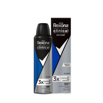 Desodorante Masculino Rexona - Clinical Men Clean   150mL