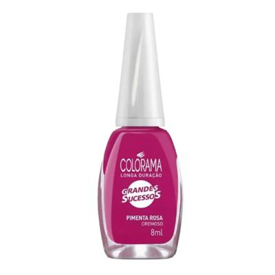 Esmalte Colorama  Cremoso Nude Colecao Grandes Sucessos - Pimenta Rosa   8ml