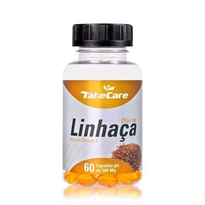 Oleo de Linhaça - 500mg | 60 cápsulas