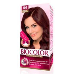 Kit Tintura Biocolor Mini - Vermelho Glamour 5.6   50g