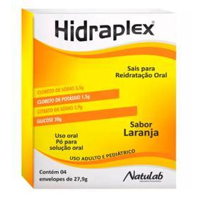 Hidraplex Pó Reidratante - Natural   4 envelopes