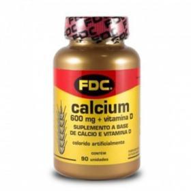 Cálcio 600mg FDC - + Vitamina D | 90 comprimidos