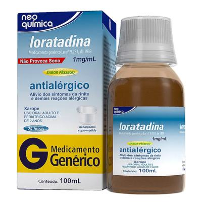 Neo Loratadin Xarope - 1mg/ml   100ml