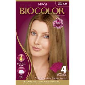 Tinta de Cabelo Biocolor - Louro Arraso 7.0 | 1 unidade