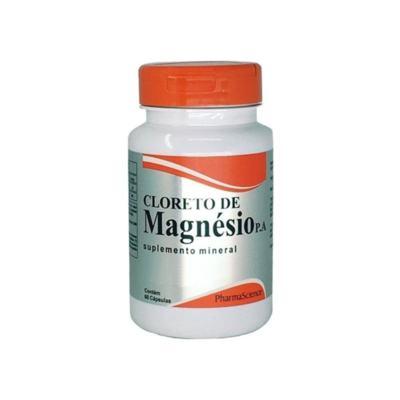 Cloreto Magnesio P.A - 500mg   60 cápsulas
