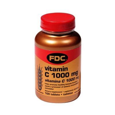 Vitamina C - 1000mg | 100 comprimidos revestidos