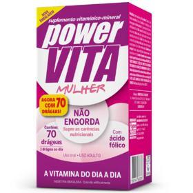 Power Vita - Mulher | 70 drageas