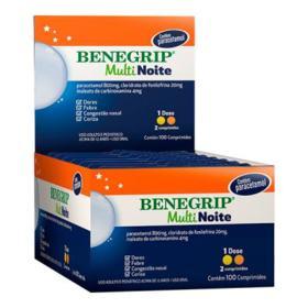 Benegrip Multi - Noite | 4 cápsulas