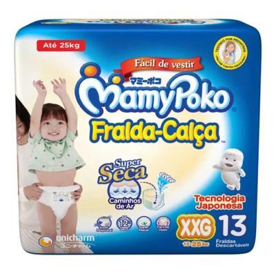 Fralda-Calça Mamypoko Super Seca - XXG   13 unidades