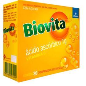Biovita C - 1g | 30 comprimidos efervescentes