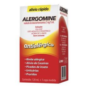 Alergomine Solução - 2mg/5ml | 120ml