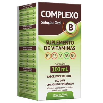 Complexo B Solução Oral - 100 ml