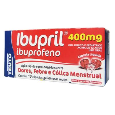 Ibupril - 400mg | 10 comprimidos revestidos