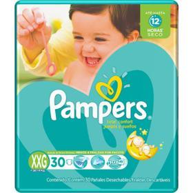 Fralda Pampers Total Confort - XXG | 30 unidades