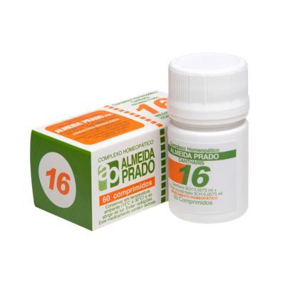 Complexo Homeopático Almeida Prado - 16 | 60 comprimidos