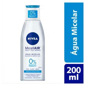 Água Micelar Nivea MicellAIR - Solução de Limpeza 7 em 1 | 200ml
