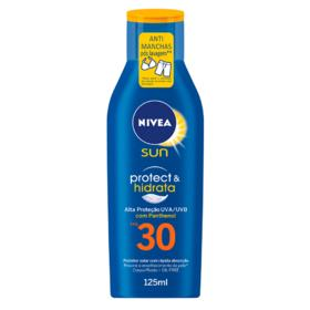 Bloqueador Nivea Sun Loção Light Feeling - Fps 30 | 125ml