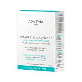Serum Facial Ada Tina Resveratrol Active 10