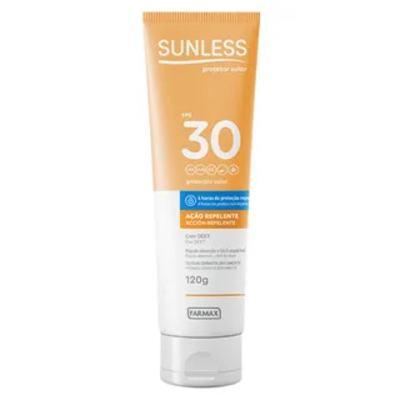 Protetor Solar Sunless Ação repelente - FPS 30 | 120g
