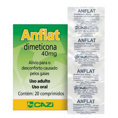 Anflat - 40mg | 20 comprimidos