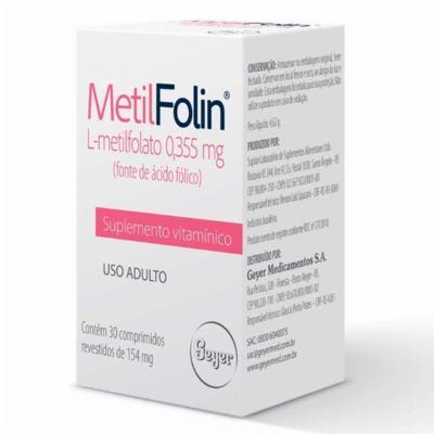 MetilFolin - 0,355mg   30 comprimidos
