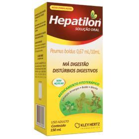 Hepatilon Solução Oral - 0,67ml/10ml   150ml