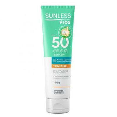 Protetor Solar Sunless Loção Kids - Fps50 | 120g
