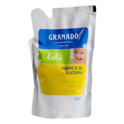 Sabonete Liquido Glicerinado Granado Refil - Tradicional | 250ml