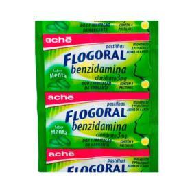 Flogoral Pastilhas - Sabor Menta 3mg | 4 pastilhas
