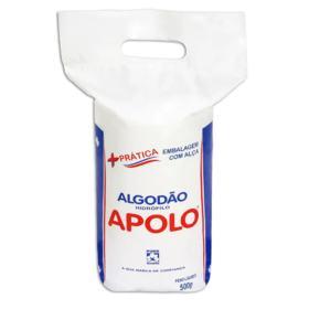 Algodão em Rolo Apolo - Hidrófilo com Alça   500g