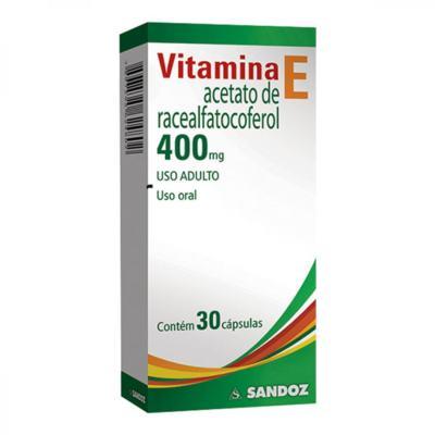 Vitamina E  Sandoz - 400mg | 30 Comprimidos