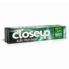 Creme Dental Close-Up Acao Profunda - Menta Paradise | 90g