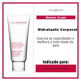 Hidratante Corporal Clarins - Moisture Rich Body Lotion | 200ml