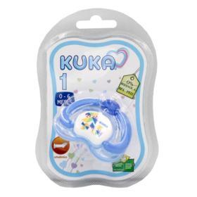 Chupeta Ortodôntica Kuka Lovely Nº1 - Azul Sortidas | 1 unidades