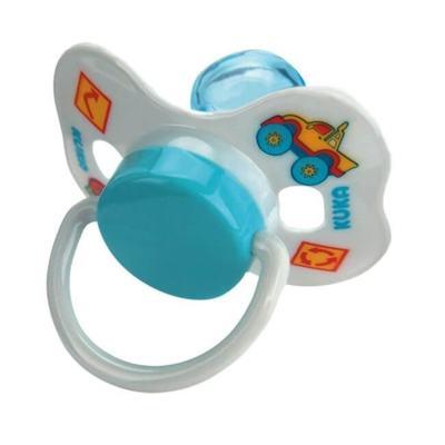 Chupeta Bico Universal Kuka Nº2 - Azul Decorada   1 unidades