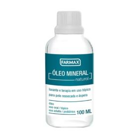 Óleo Mineral Natural - 100ml