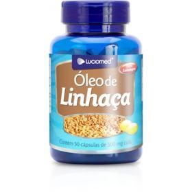 Oleo de Linhaça - 500mg   50 cápsulas
