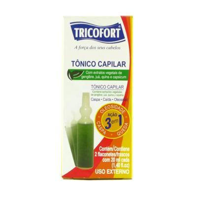 Tônico Capilar Tricofort - 20ml | 2 unidades