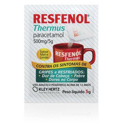 Resfenol Thermus - 500mg   Envelopes de 5g