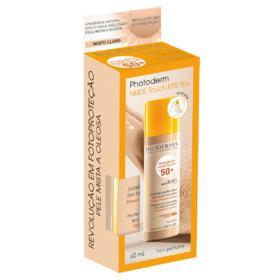 Protetor Solar Facial Photoderm Nude Touch - Muito Claro Fps50   40ml