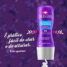 Creme de Tratamento Aussie - Moist 3 Minute Miracle | 236ml