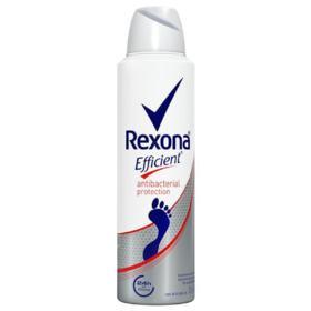 Desodorante Antibacterial Para os Pés Rexona - Efficient | 153ml