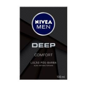 Loção Pós-Barba Nivea Men Deep Comfort - Deep Comfort | 100ml