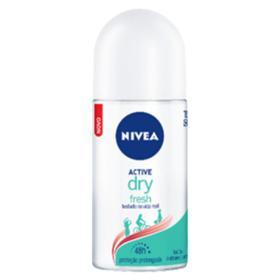 Desodorante Roll-On Nivea Dry Fresh Feminino - 48hs | 50ml