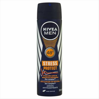 Desodorante Antitranspirante Nivea Men - Stress Protect Aerosol   150ml
