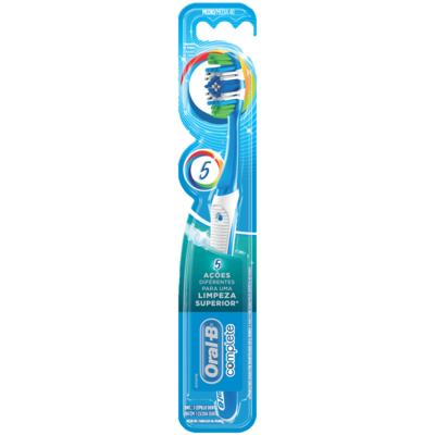 Escova Dental Oral-B Complete 5X - Macia | 1 unidade