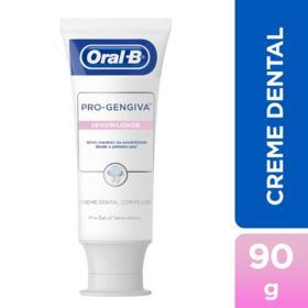 Creme Dental Oral-B Pro - Gengiva Sensibilidade   90g