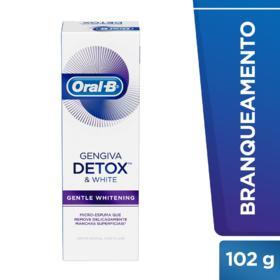 Creme Dental Oral-B Gengiva e Esmalte - Repair Gentle Whitening   102g