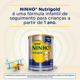 Fórmula Infantil NINHO - Nutrigold | 800g